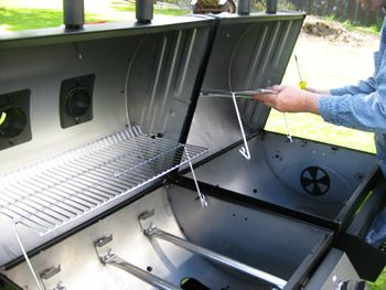 My New Char Griller Duo Gas Charcoal Grill