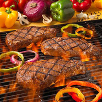 Buffalo Steaks Grilling