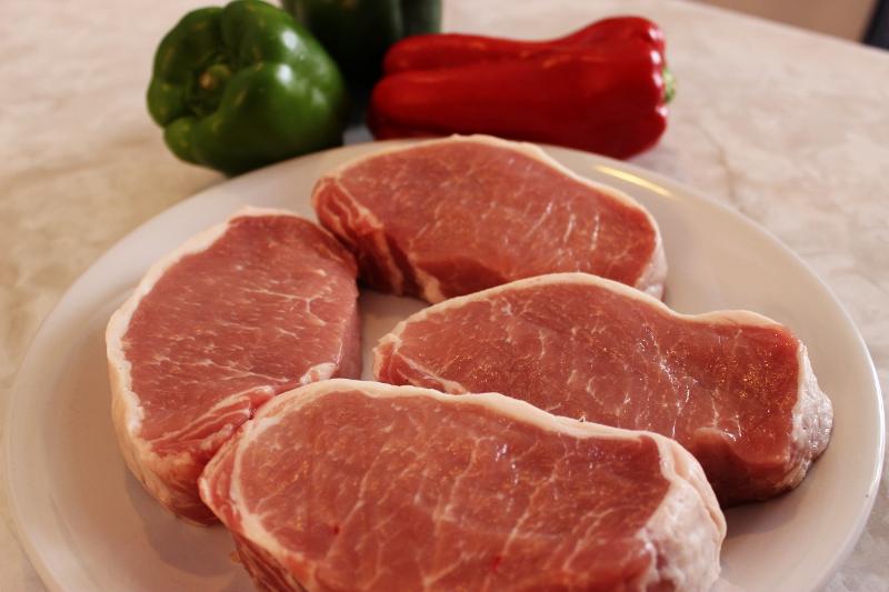 Barbecue Pork Kabobs