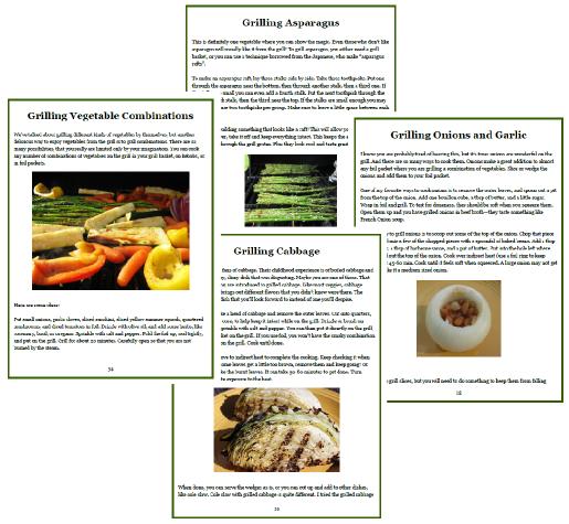 Grilled Vegetable Magic ScreenShots