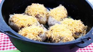 Dutch Oven Potato Boats