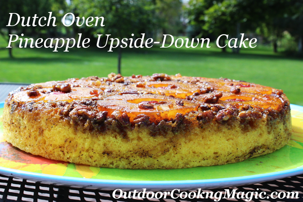 Dutch Oven Pineapple Upside Down Cake Pin