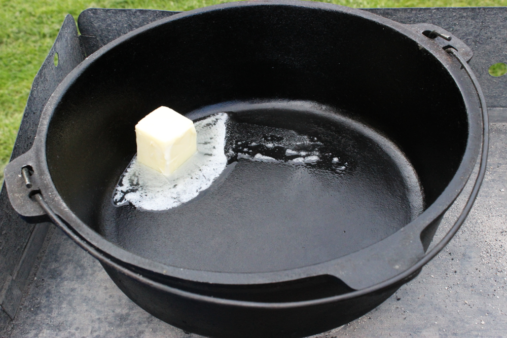 Melting Butter in Dutch Oven